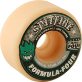 Spitfire Wheels F4 Conical 53mm 101a - White/Green/Black (Set of 4)