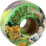 Spitfire Wheels F4 Classic 52mm 99a - Toxic Apocalypse Purple/Green (Set of 4)