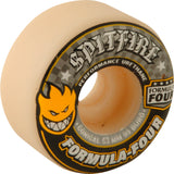 Spitfire Wheels F4 Classic 53mm 99a - White/Yellow/Black (Set of 4)