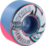 Spitfire Wheels F4 Radial 54mm 99a - Overlay Swirl Pink/Blue (Set of 4)