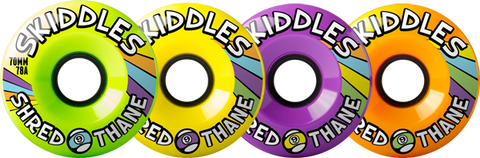 Sector 9 Wheels Skiddles 70mm 78a Mix#3 (set)
