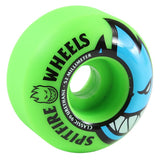 Spitfire Wheels Bighead 52mm 99a - Neon Green/Blue (Set of 4)