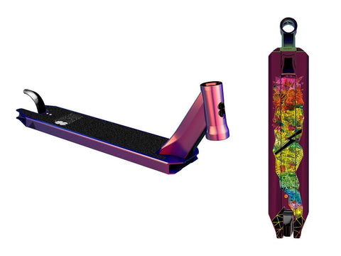 Lucky 2018 COVENANT Pro Scooter Deck - NeoChrome