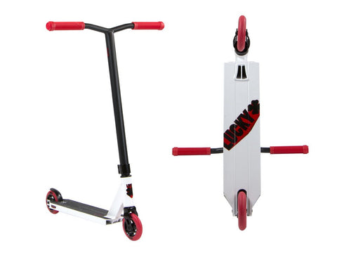 Lucky 2018 CREW Complete Pro Scooter - White/Red