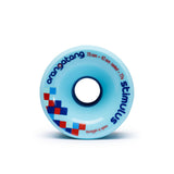 Orangatang Stimulus 70mm 77a Blue Longboard Wheels (Set of 4)