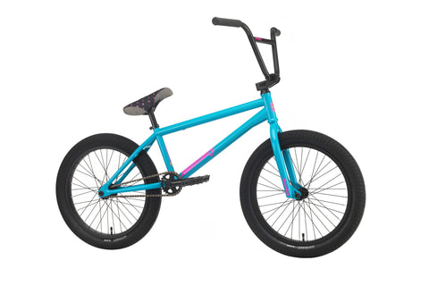 "Sunday 2020 Forecaster Aaron Ross 20.5"" Complete BMX Bike - Gloss Ocean Blue"
