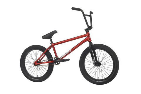 "Sunday 2020 Forecaster Brett Silva 20.75"" Complete BMX Bike - Candy Red"