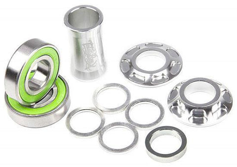 Total BMX Team Mid Bottom Bracket Kit 22mm - Silver