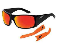 Arnette Sunglasses Change Up Gloss Black/fuzzy Neon Orange - Skates USA