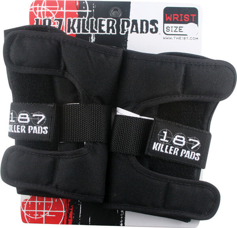187 Killer Pads Wristguards Junior - Black