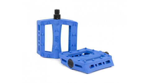 Rant BMX Shred Pedals - Blue