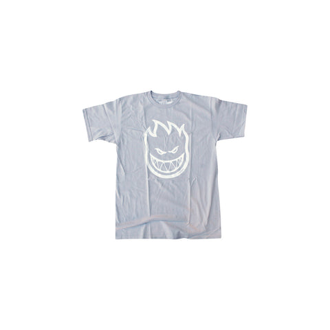 Spitfire Bighead T-Shirts Medium - Silver/White