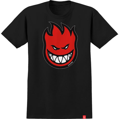 Spitfire Bighead Fill  Youth T-Shirt - Black/Red