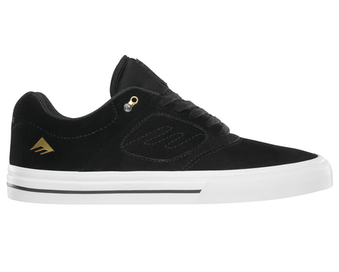 Emerica Shoes Reynolds 3 G6 Vulc - Black/White/Gold
