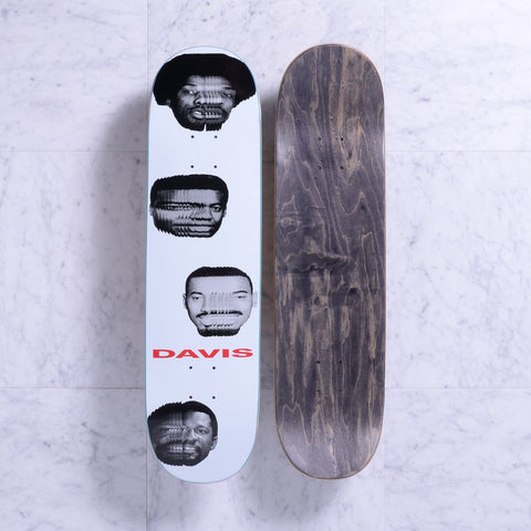 "Quasi Al Davis Heads Skateboard Deck - 8.125"" Soap"