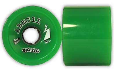 Abec11 Wheels Classic BigZigs- green (set) - Skates USA
