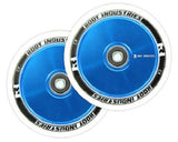 Root Industries 110mm AIR Wheels - White/Blue (Pair)