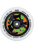 Elite Air Ride Wheels 110mm - White/Camo (Pair)