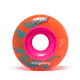 Orangatang Skiff 62mm 80a Longboard Wheels - Orange (Set of 4)