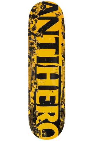 "Anti-Hero Skateboard Deck Budget Cuts 8.25"" - Orange"