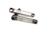 BSD BMX Substance Cranks 165mm - Flat Raw