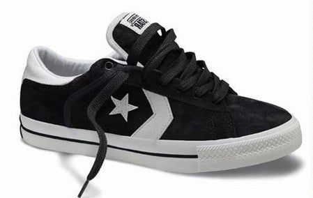 Converse Shoes - Pro Leather - black suede - Skates USA