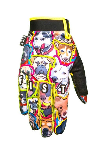 Fist What's Up Dawg Gloves - Youth