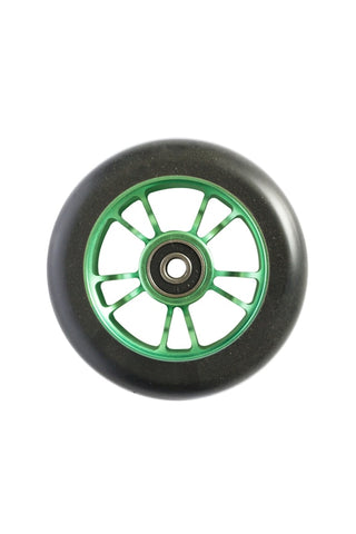 Envy Colt Scooter Wheel 100mm -  Green/Black (Pair)