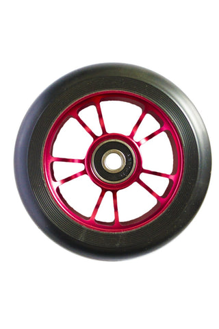 Envy Colt Scooter Wheel 100mm -  Red/Black (Pair)