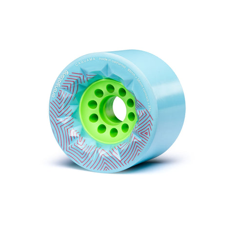 Orangatang Caguama 85mm 77a Longboard Wheels - Blue (Set of 4)
