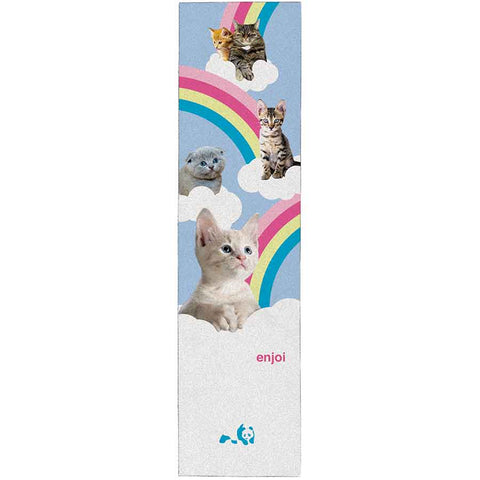 "Enjoi Kitten Slumbers Single Sheet Griptape 9""x33"" - Multi"