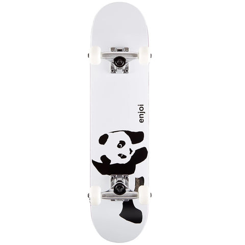 "Enjoi Panda Soft Top Youth Complete Skateboard 6.75"" - Whitey"