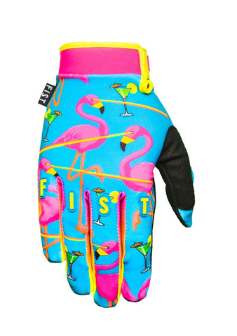 Fist Lazered Flamingo Gloves - Youth
