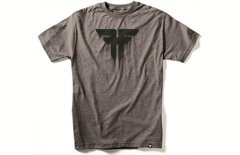 Fallen Tee Bleed- heather/charcoal