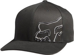 Black/White - Fox Hat Daddy'O Flexfit