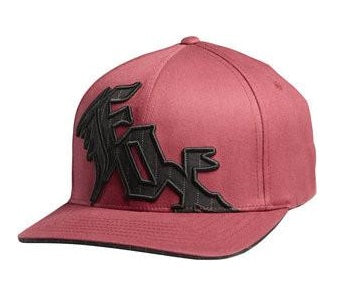 Fox Hat Married To The Game Flexfit - Burgundy