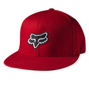 Fox Hat The Steez Fitted Flexfit - Red