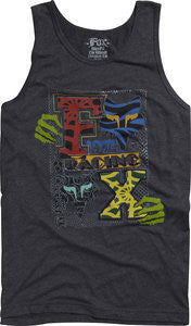 Fox Tank Dreadstock Premium- heather black