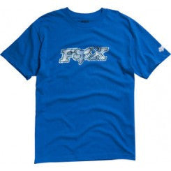 Fox Tee Digitized- blue