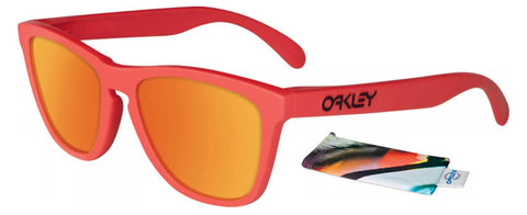 Oakley Sunglasses Frogskins - Mesa Orange/Fire Iridium