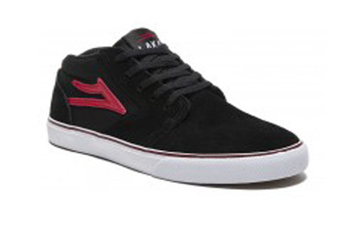 Lakai Shoes Fura High Kids - Black/Red Suede