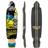 "Gravity Mini Kick 40"" Deck - Yellow"