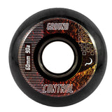 Ground Control CM EarthCity Wheels 60mm 90A - Black (Set of 4)