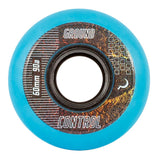 Ground Control CM Wheels 60mm 90A - Light Blue (Set of 4)
