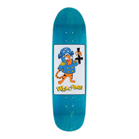 "Welcome Petrine Crunch On Atheme 8.88"" Deck - Blue"
