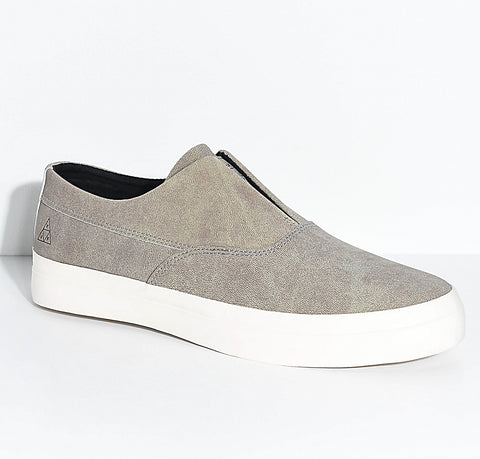 Huf Shoes Dylan Slip On - Fog/White