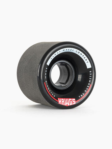 Hawgs Chubby Wheels 60mm 78a - Black (Set of 4)