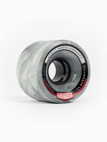 Hawgs Chubby Wheels 60mm 78a - Grey/White (Set of 4)