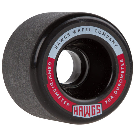 Fatty Hawgs Wheel 63mm 78a - Black (Set of 4)