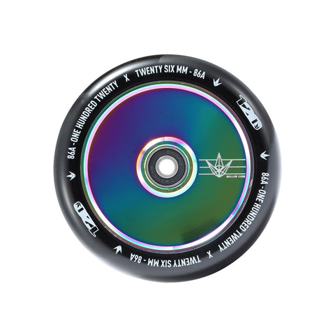 Envy Scooter Wheel Hollow Core 120mm - Oil Slick/Black (Pair)